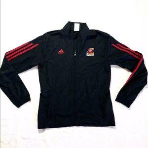 Adidas Womens Zip Up Jacket Track & Field SzSmall